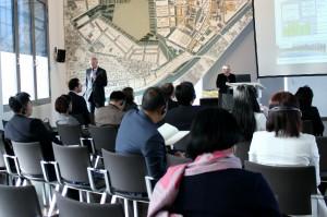 Bild Chinesische Delegation zu Gast in Adlershof